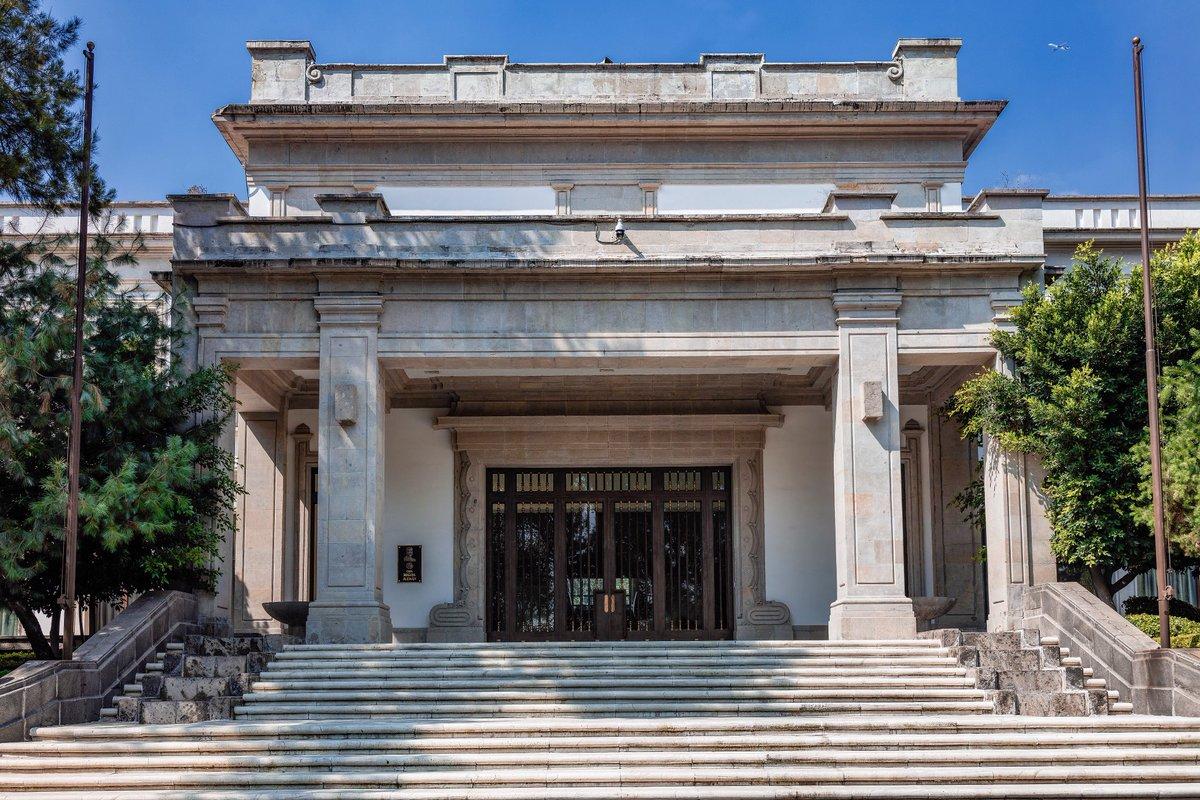 Así se verán Los Pinos como museo