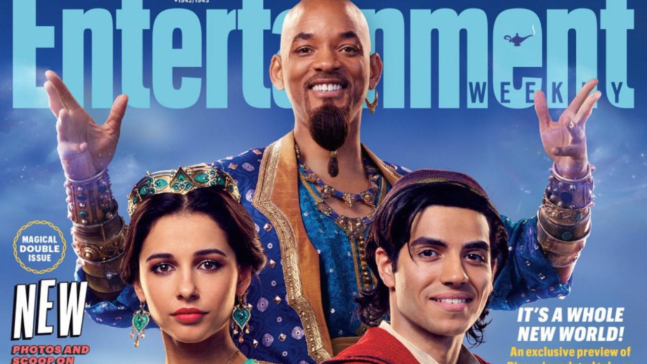 Will Smith presume su personaje en Aladdin