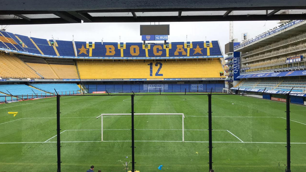Estadio de Boca Juniors sufre amenaza de bomba