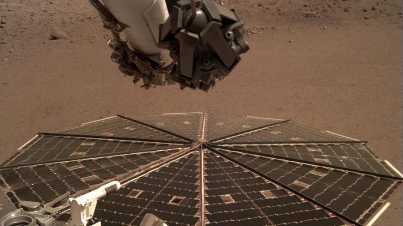 InSight logra captar sonidos del viento en Marte