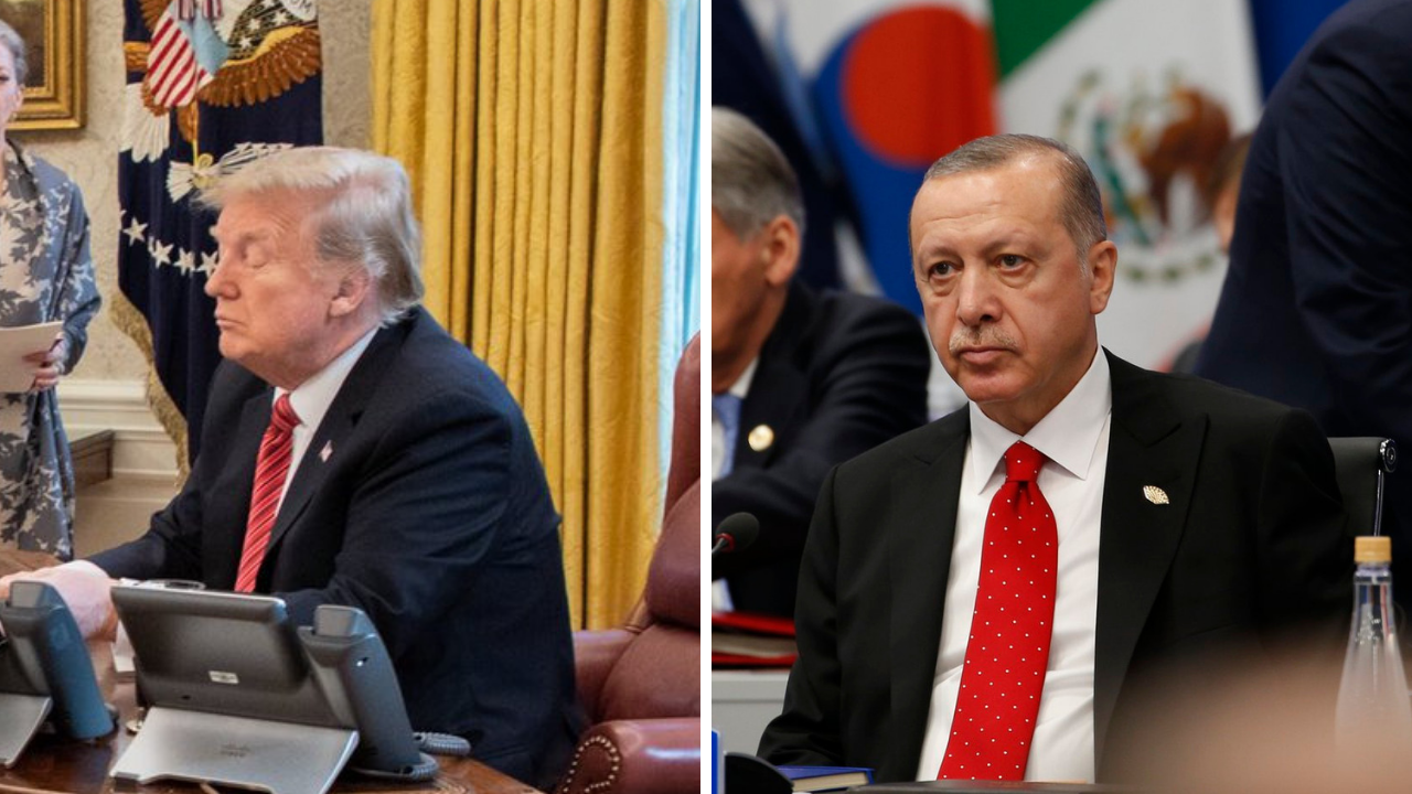 Erdogan invita a Trump a visitar Turquía