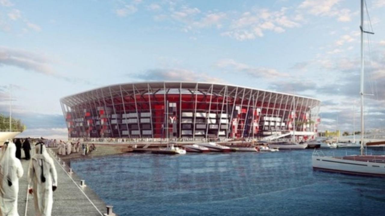 El estadio desmontable que espera llegar a 5 mundiales