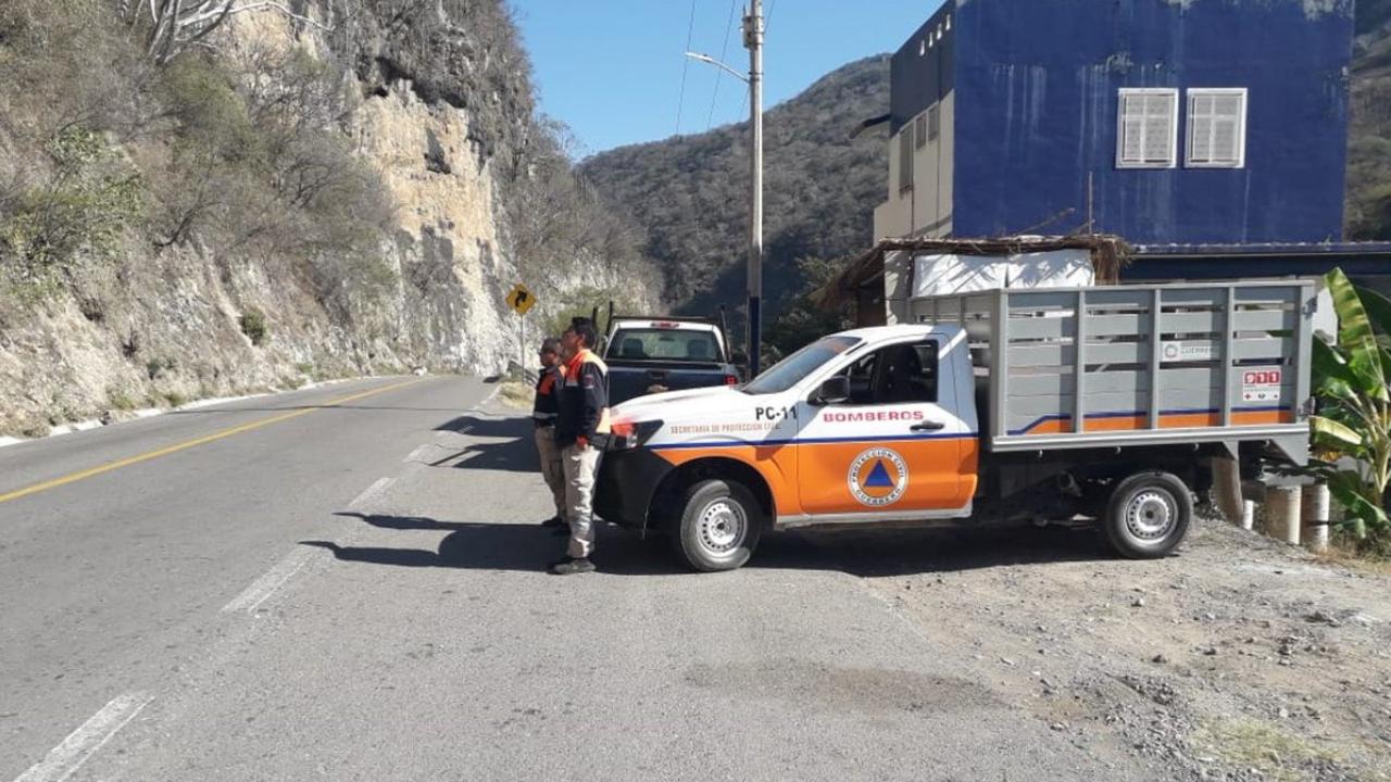 Mujer muere en choque en carreta Tlalpa-Puebla