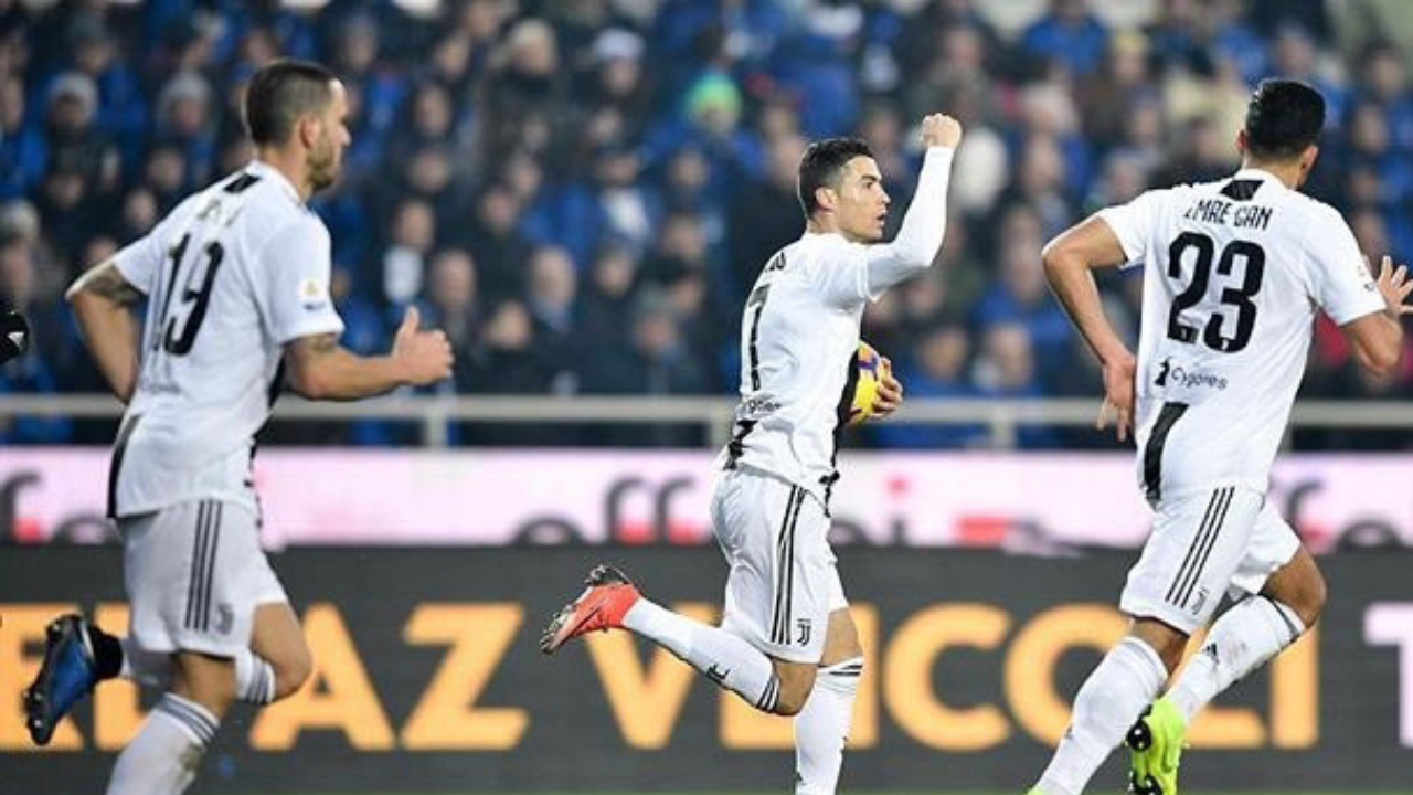Cristiano Ronaldo la sigue rompiendo en Italia