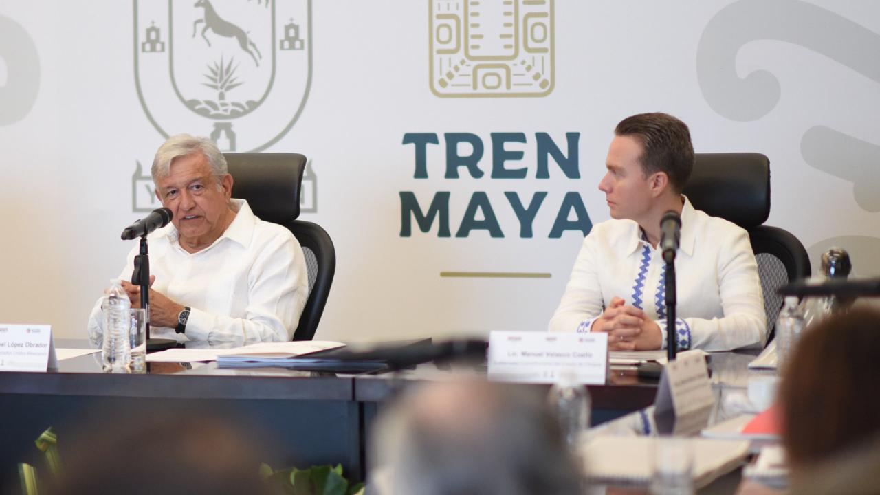 AMLO y Velasco hablarán sobre superdelegados el martes