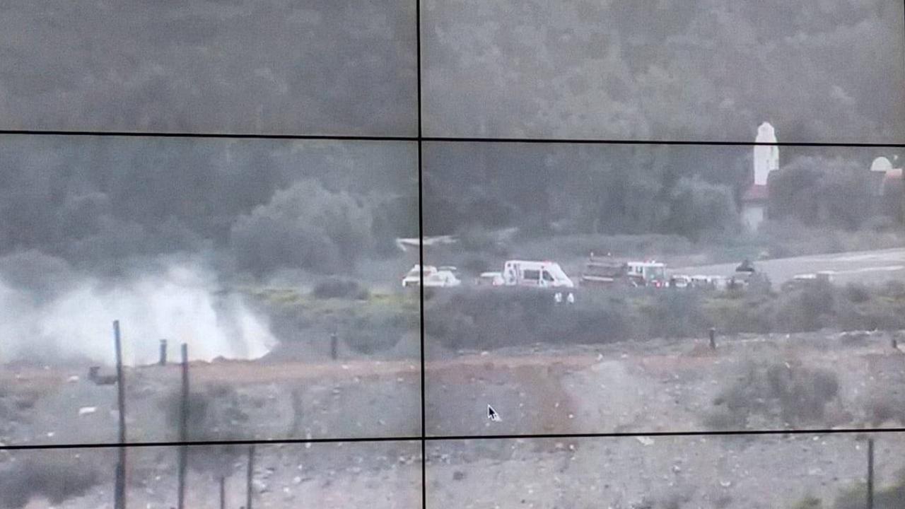 Dos muertos en desplome de avioneta en Atizapán