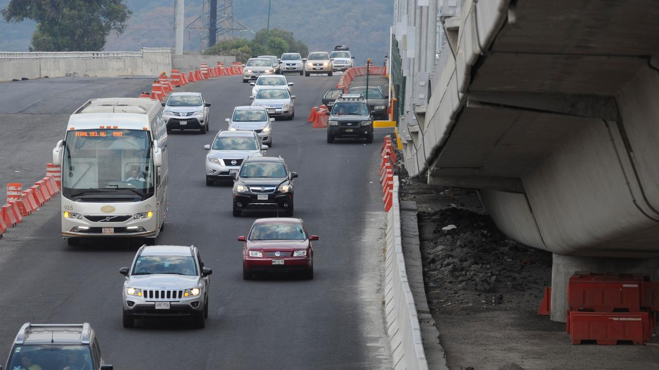 Se registran múltiples accidentes carreteros