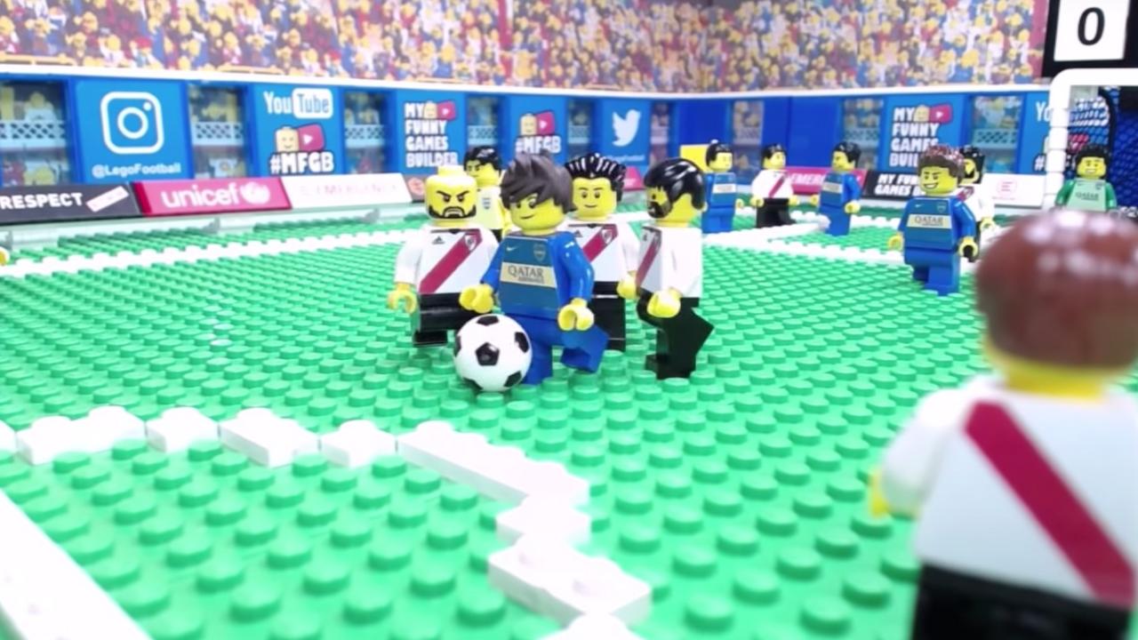 Así se ve la final de Copa Libertadores con Lego's