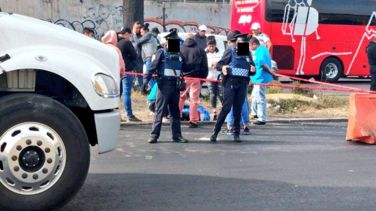 Motociclista muere atropellado en calzada Ignacio Zaragoza