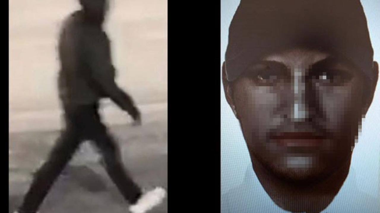 Retrato difundido por el FBI