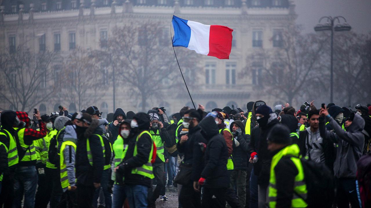 París protestas caos