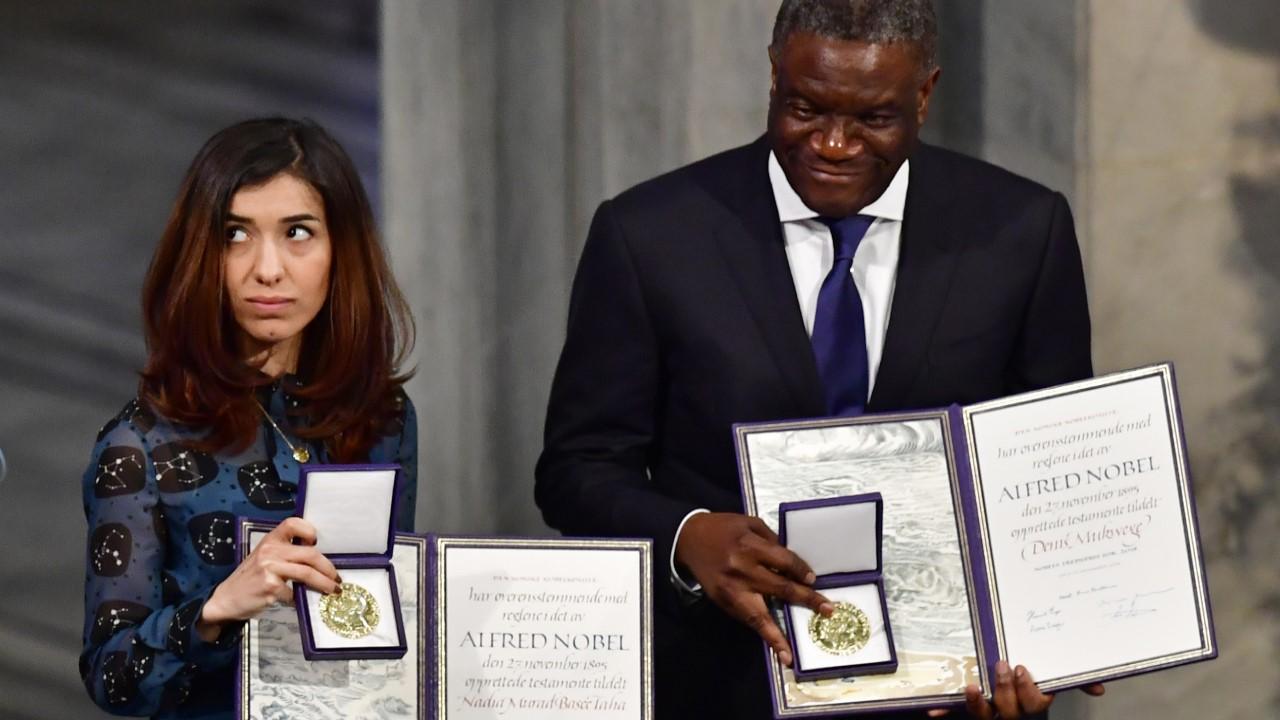 activistas Premio Nobel de la Paz