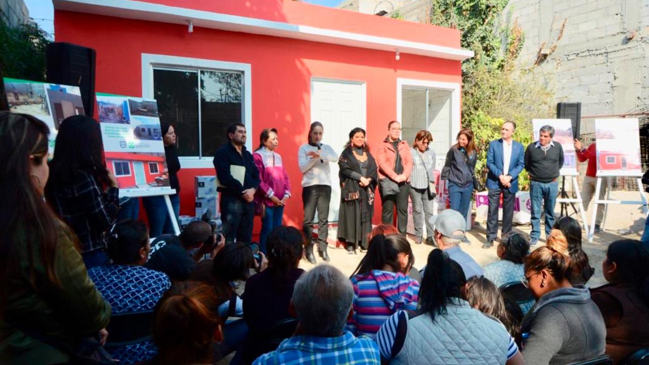 damnificados sismos entrega casas