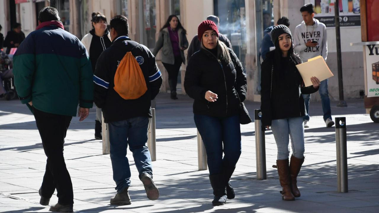 Se mantienen bajas temperaturas en territorio nacional