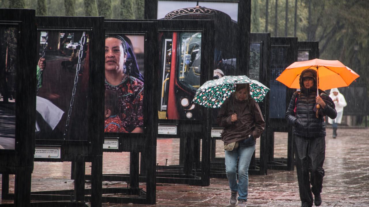 SMN prevé lluvias para la Ciudad de México