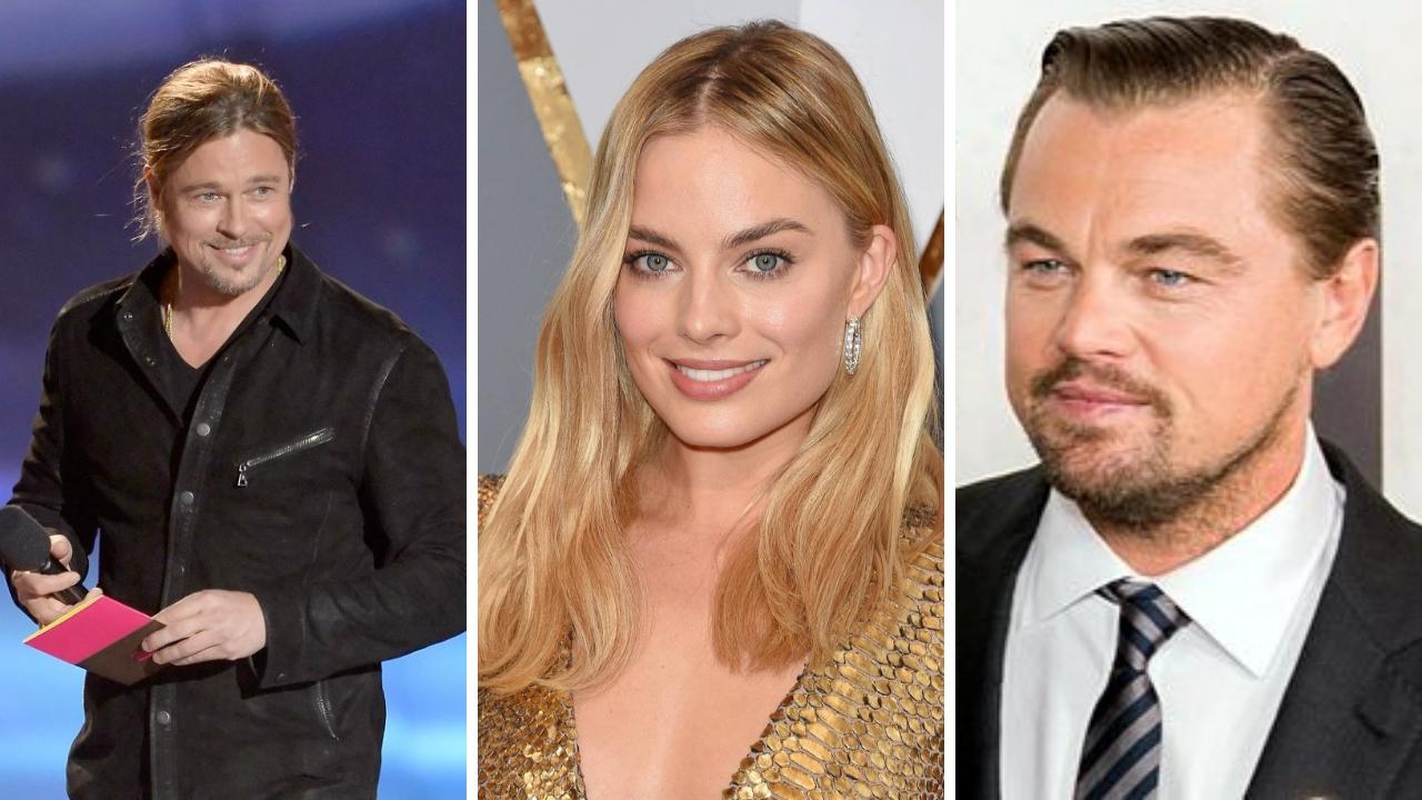 Brad Pitt, Leonardo DiCaprio y Margot Robbie juntos en película