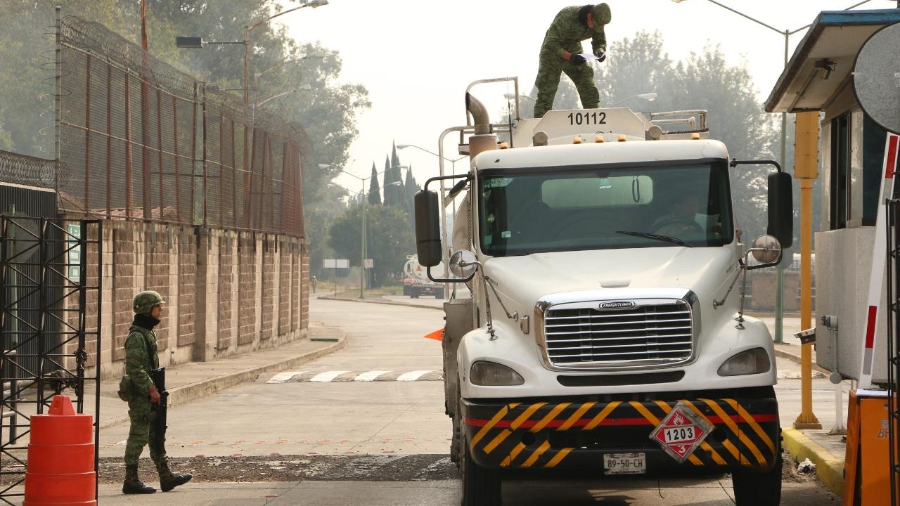 Aseguran pipas en Veracruz