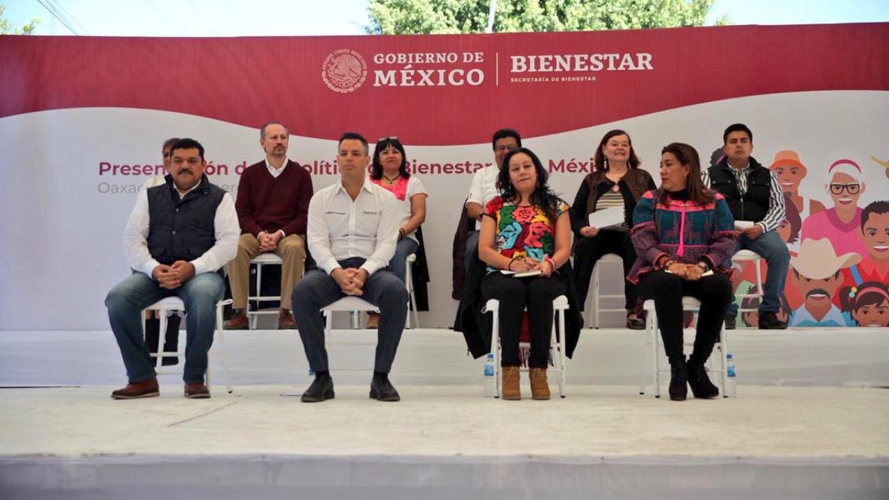Secretaría de Bienestar en Oaxaca