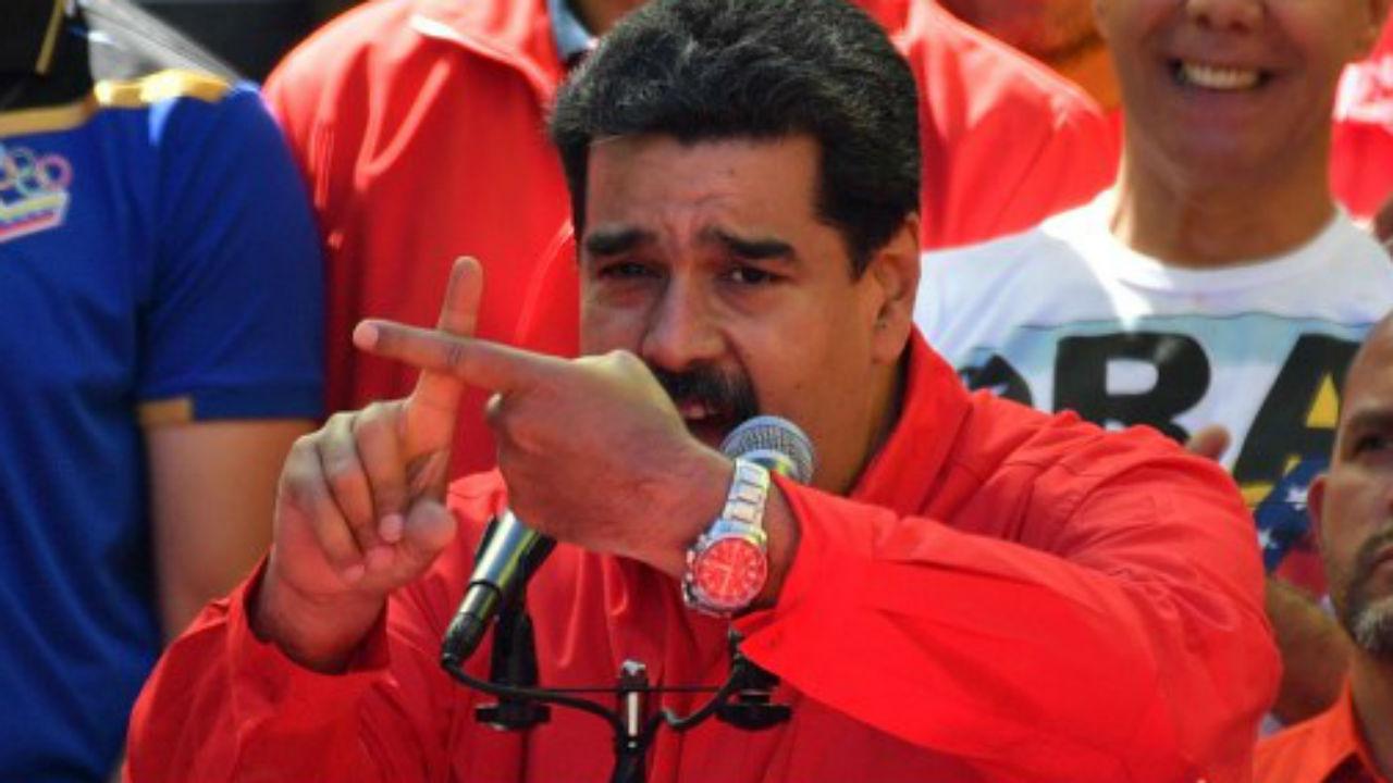 Venezuela rompe relaciones con Colombia, anuncia Maduro