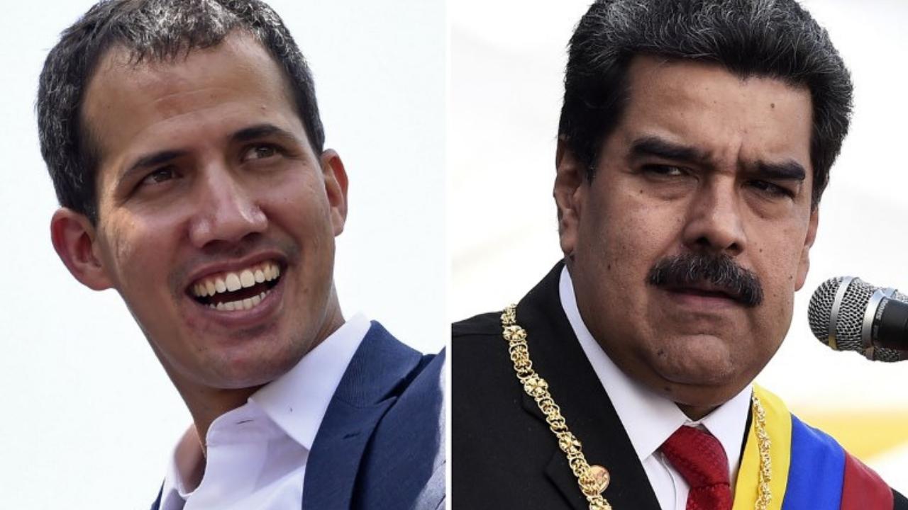Maduro y Guaidó ayuda humanitaria