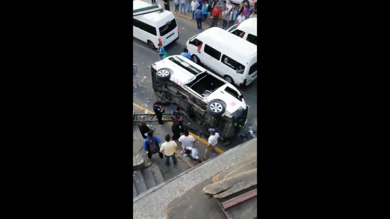Accidente en Naucalpan
