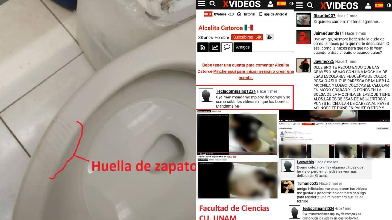 páginas porno - UNAM