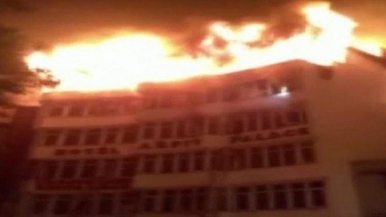 incendio-Nueva Delhi