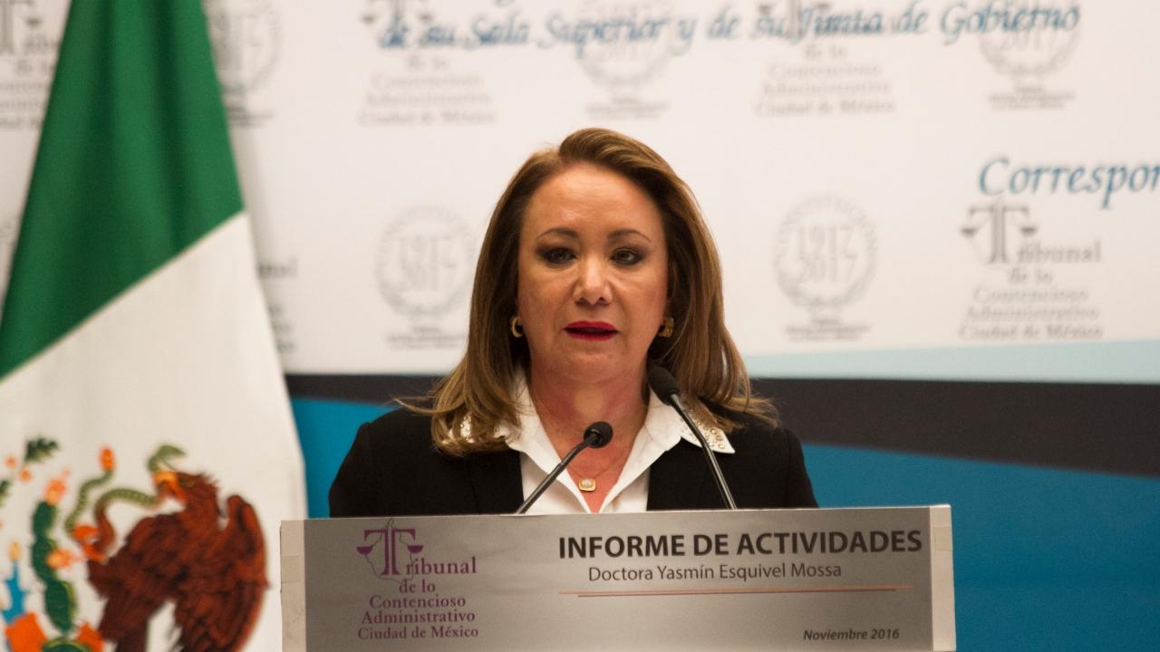 Esposa de Riobóo para la SCJN