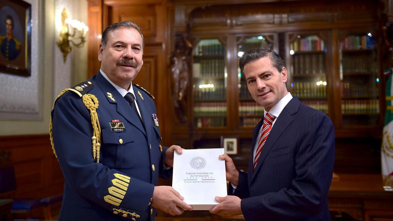 Estado Mayor Presidencial EPN