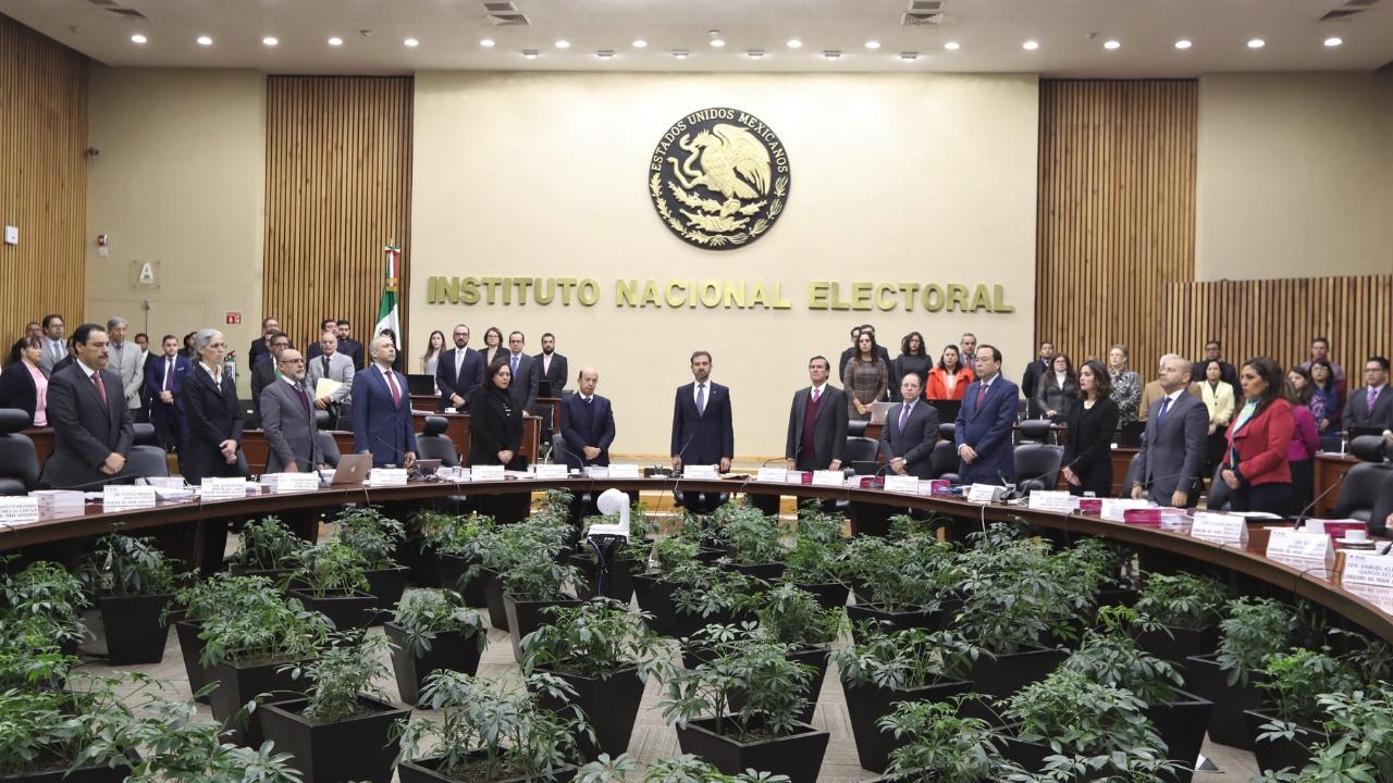 INE elección en Puebla