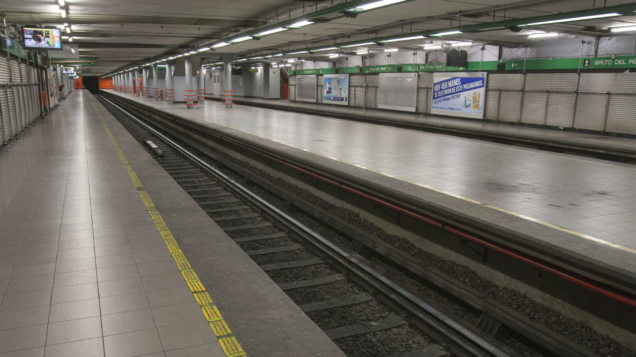 secuestro en el metro