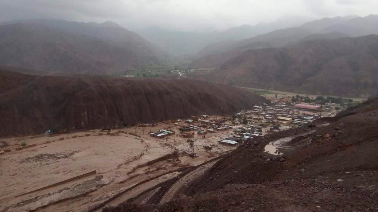 avalancha Tacna Perú