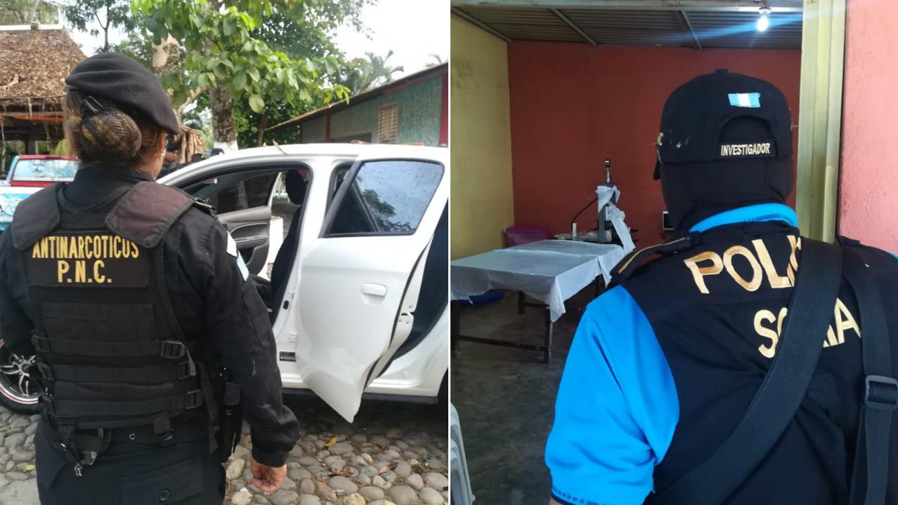 narcolaboratorio Guatemala