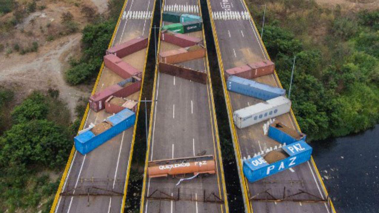 venezuela obstaculos frontera