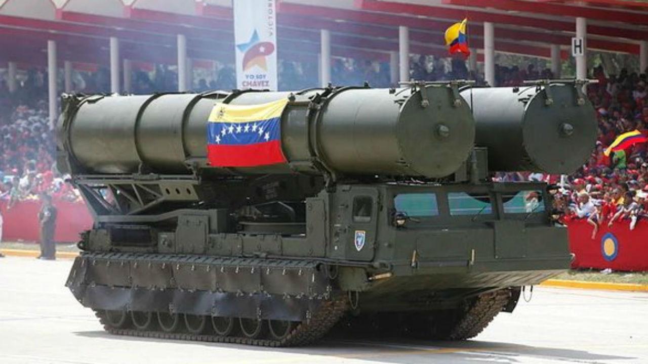 rusia en venezuela misiles