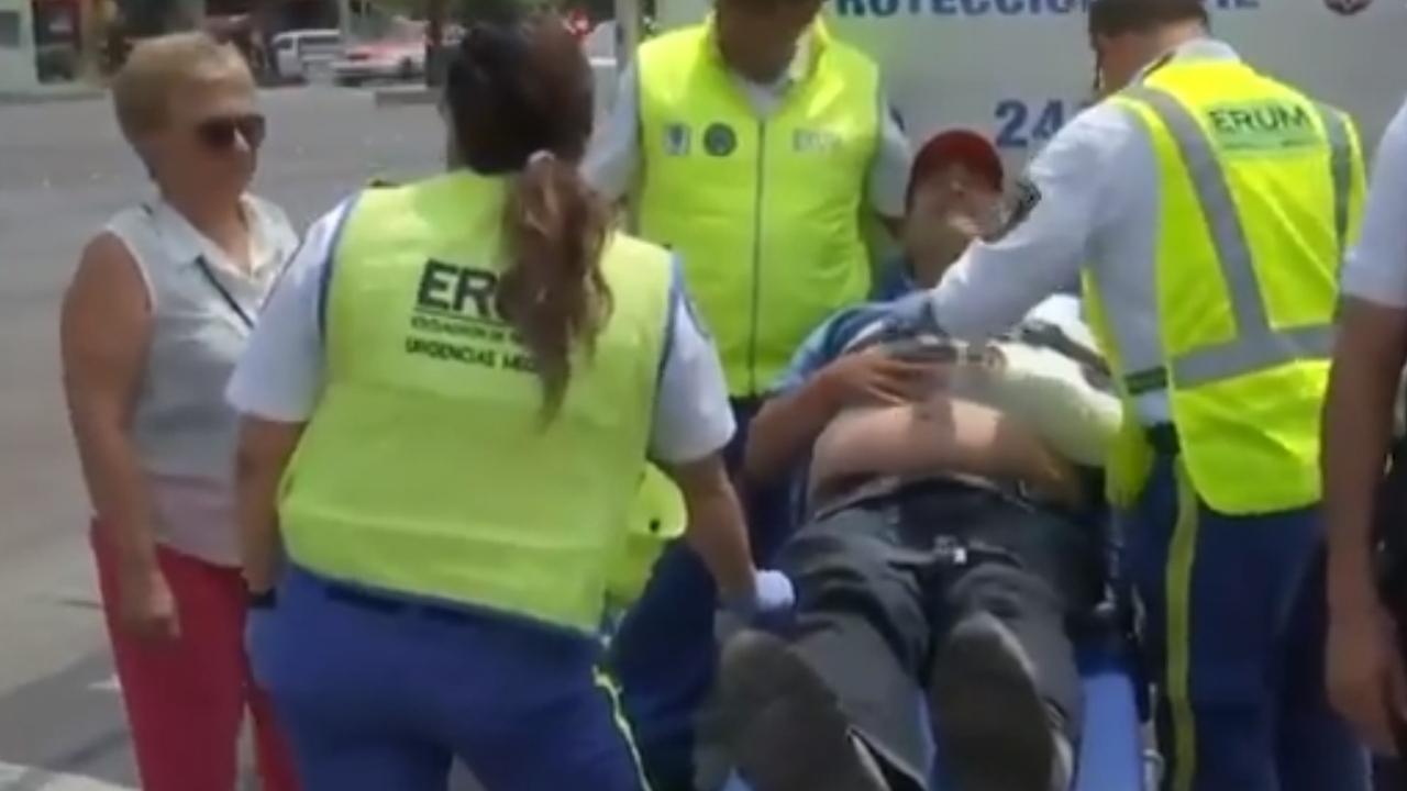 Atropellado ambulancia