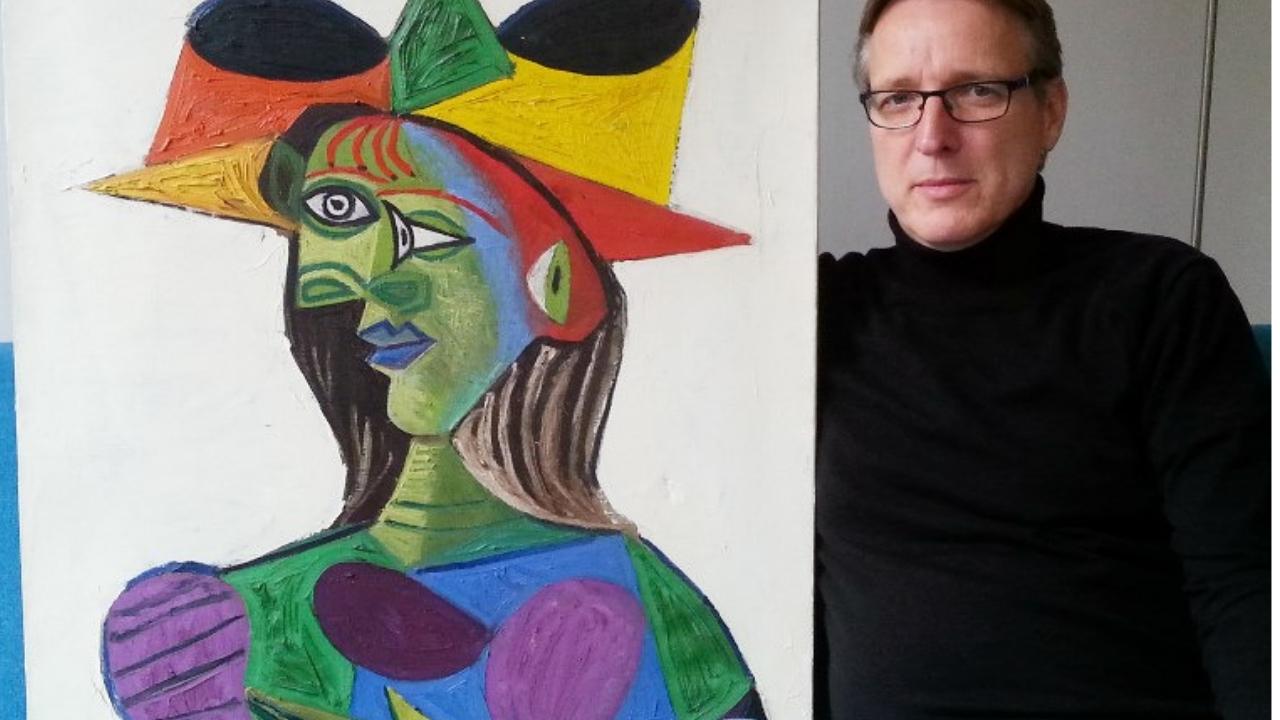 Picasso-Busto de Mujer