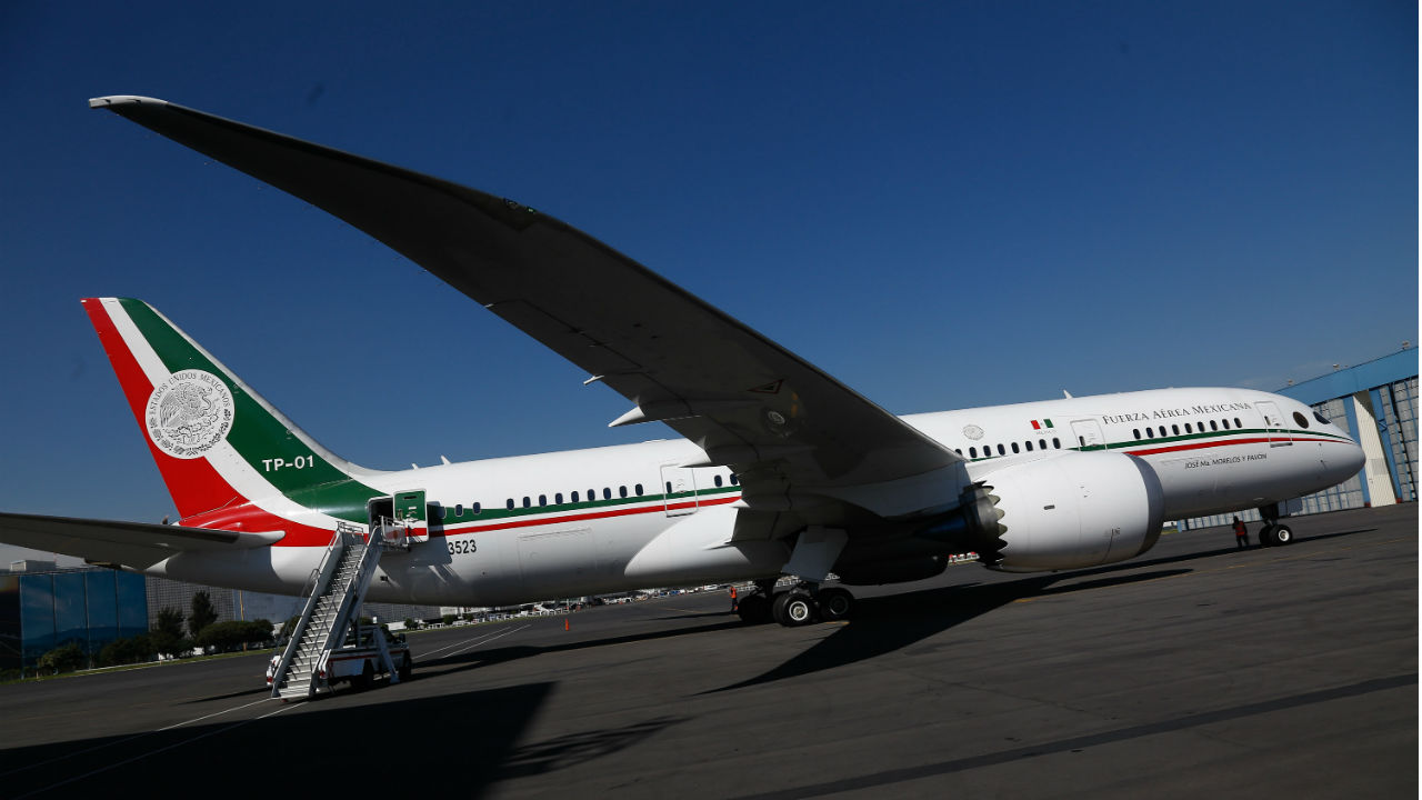 onu avion presidencial