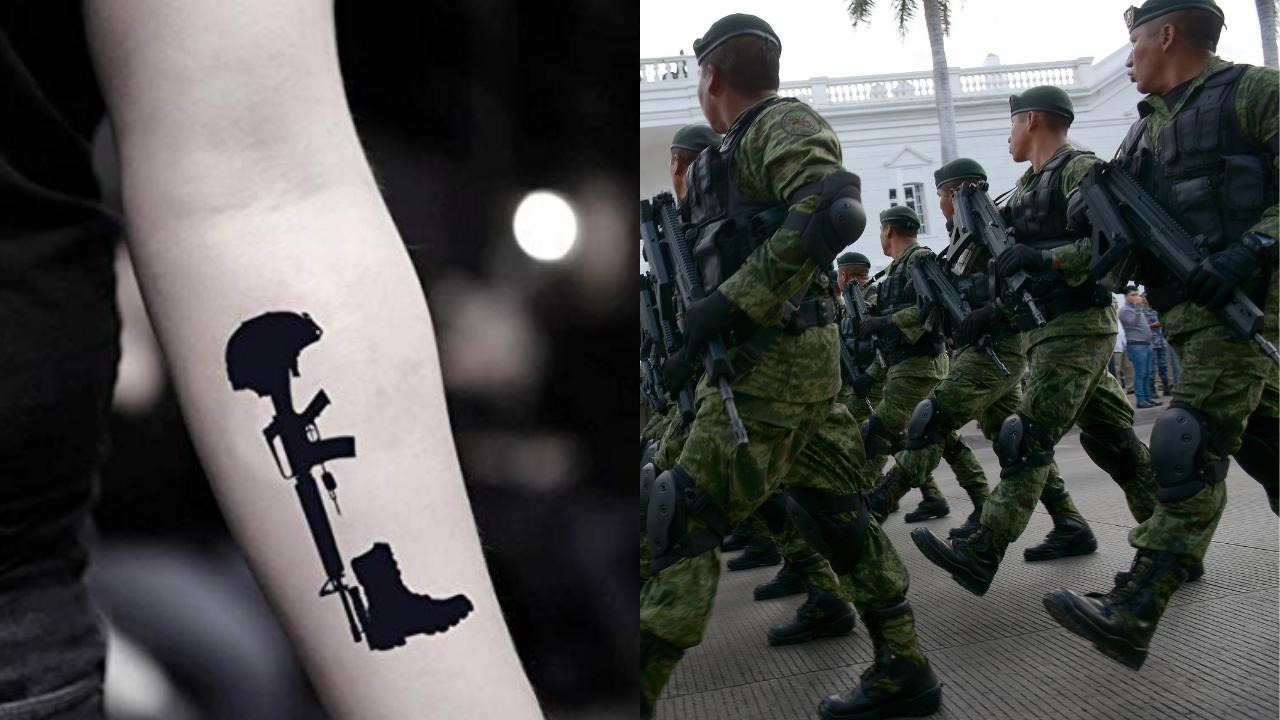tatuajes ejército
