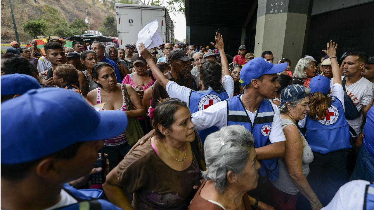 cruz roja venezuela