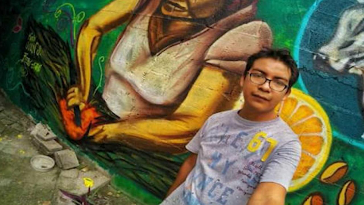 muralista Héctor Domínguez