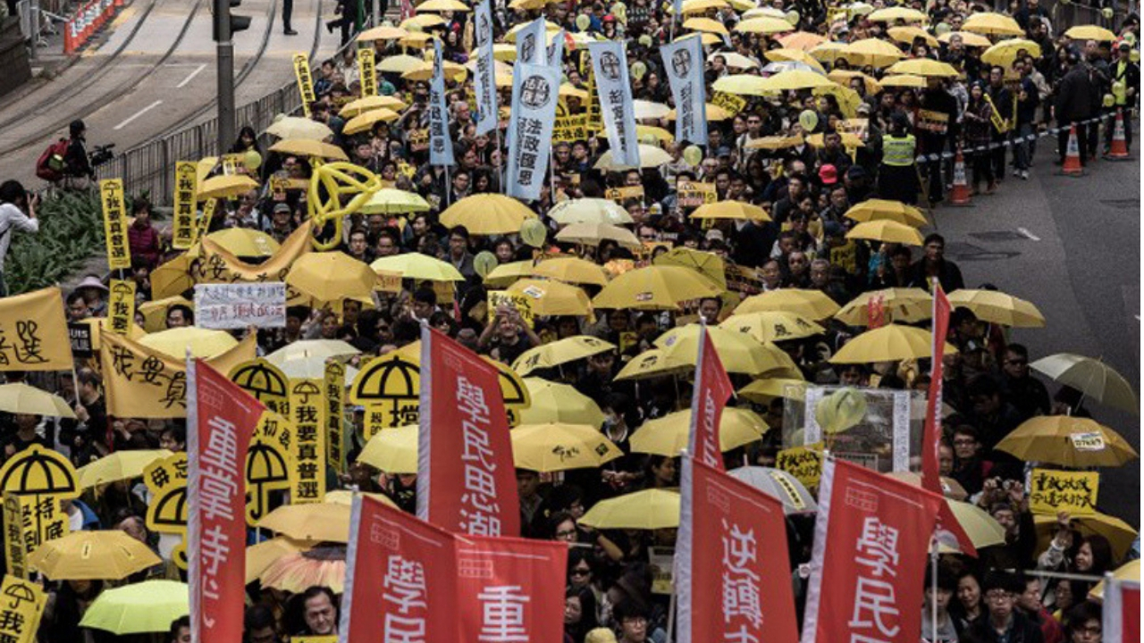 Rebelión de los paraguas