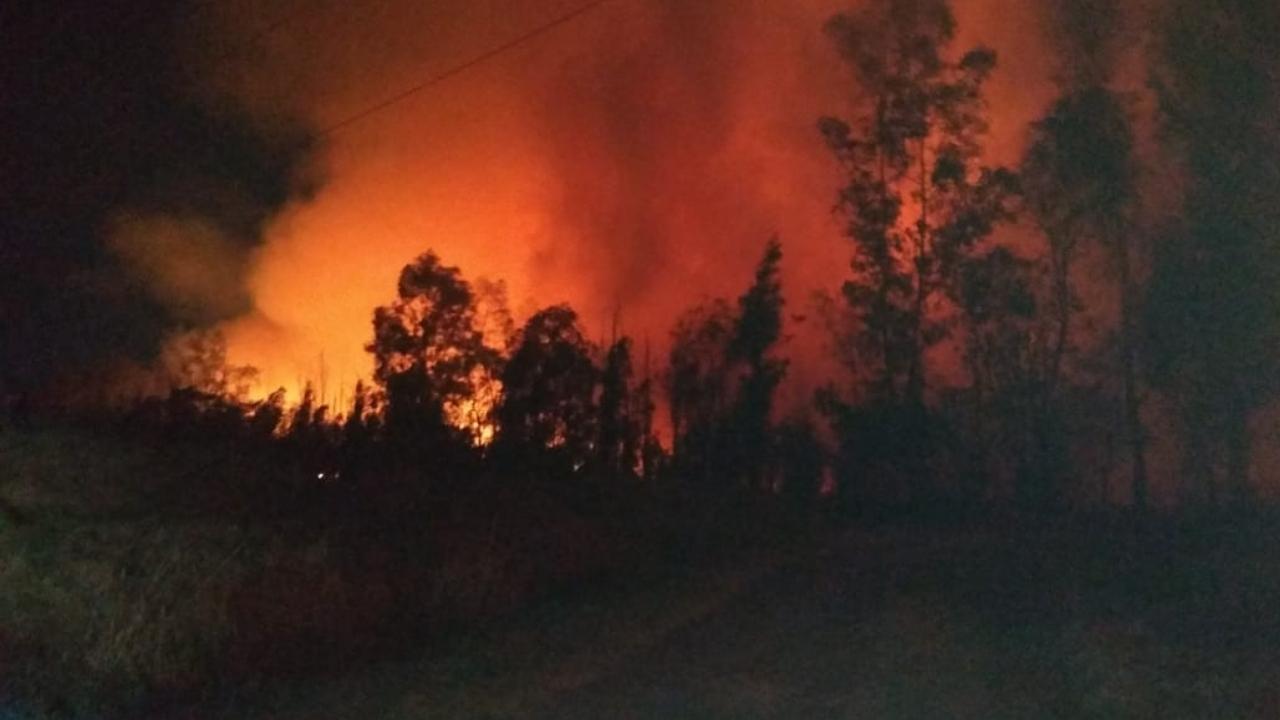 incendio en Cuemanco