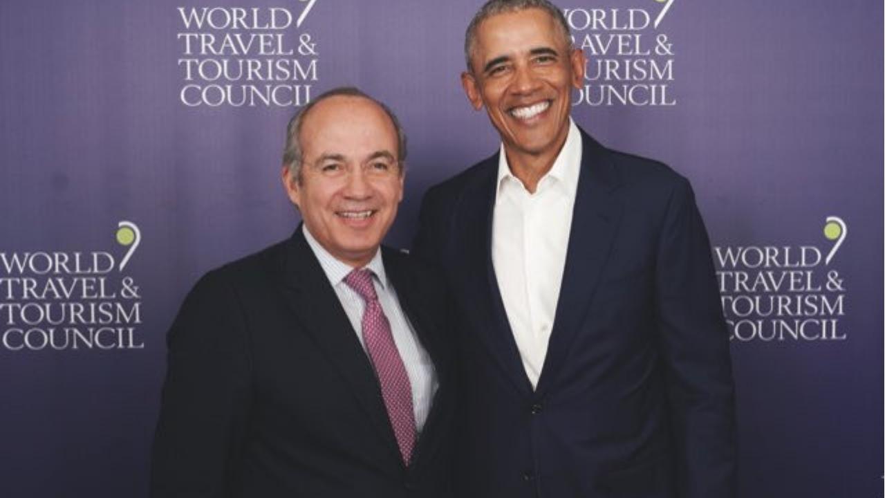 Felipe Calderón y Obama