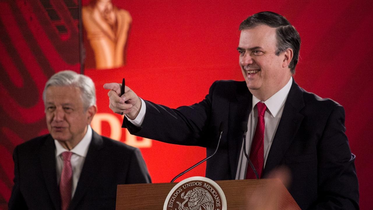 renuncia de Marcelo Ebrard