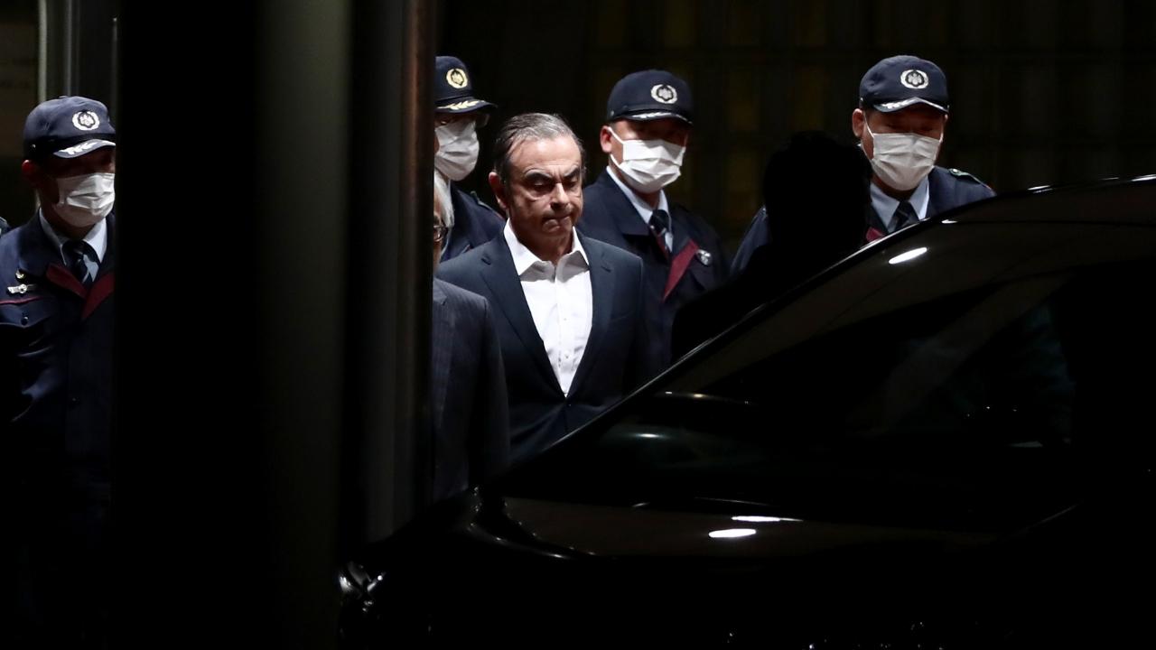 Carlos Ghosn libre