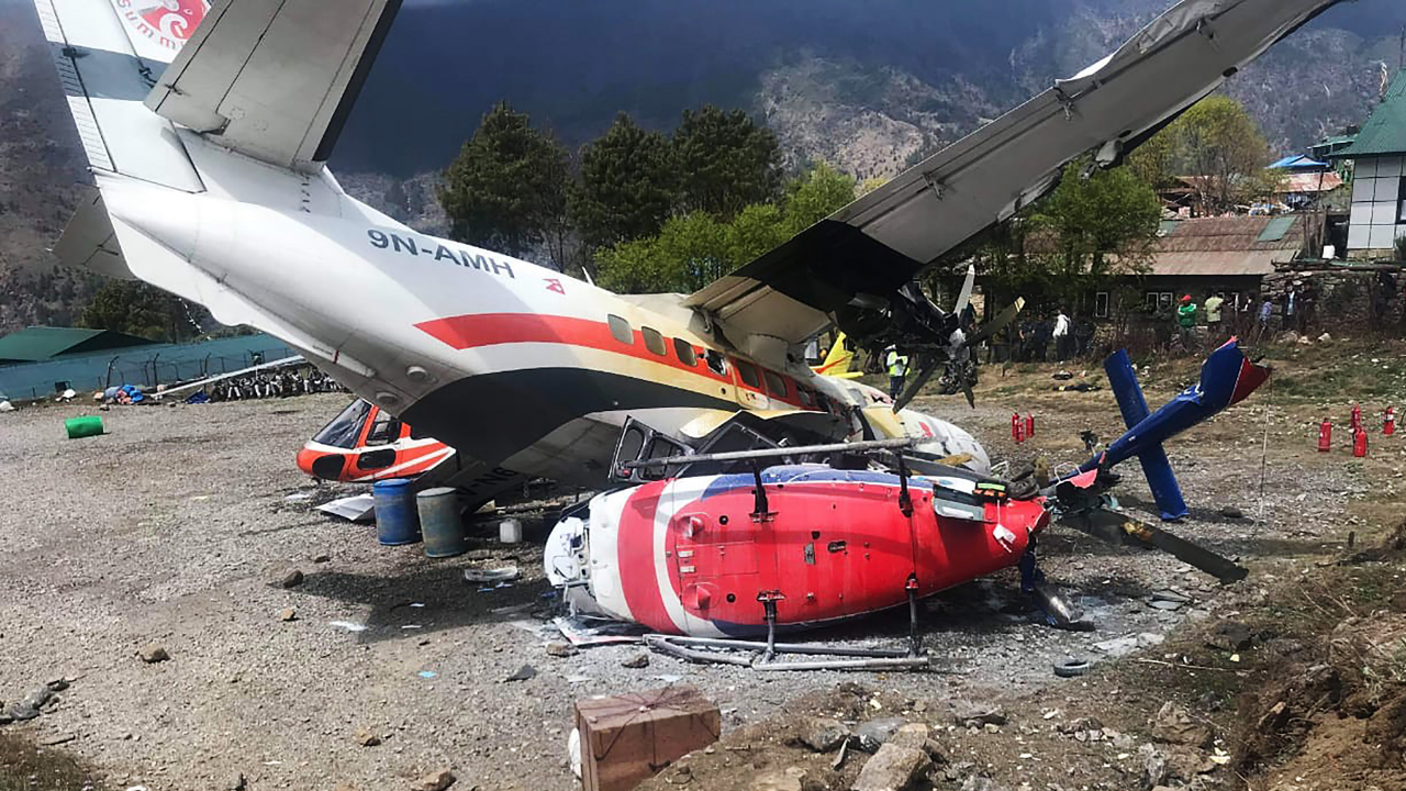 Accidente avión Nepal