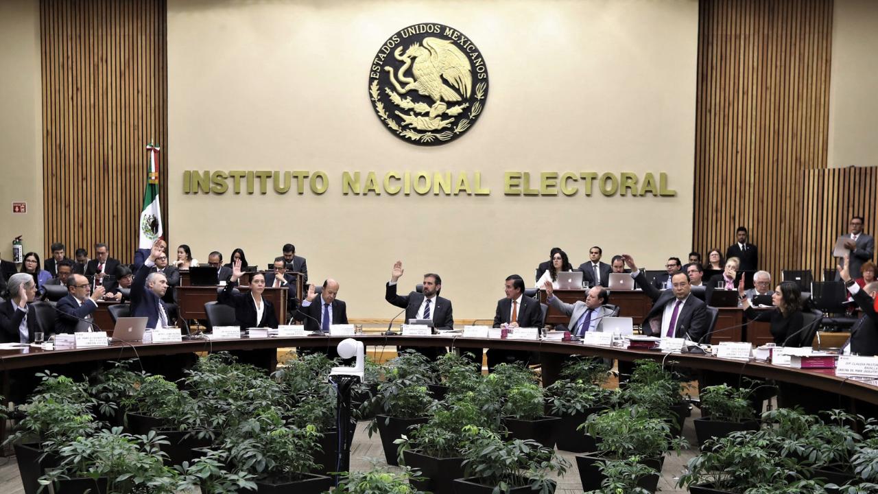 INE alcaldes