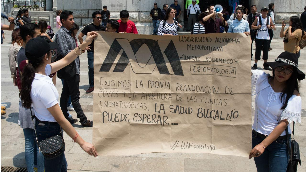 amparo huelga UAM