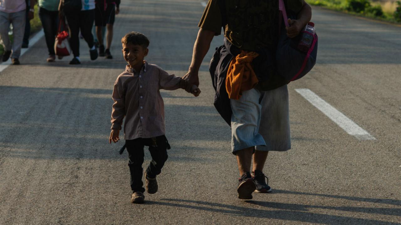 unicef niños crisis migratoria